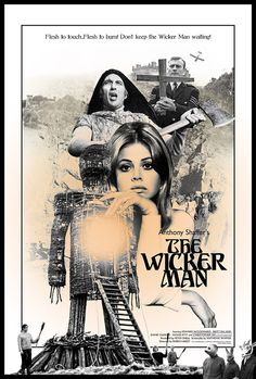 THE WICKER MAN (1973) A police sergeant is sent to a Scottish island village in search of a missing girl whom the townsfolk claim never existed. Stranger still are the rites that take place there.