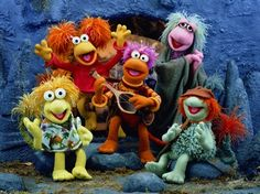 Fraggles of Fraggle Rock another Jim Henson creation which had amazing puppetry as well as miniaturization and robotics