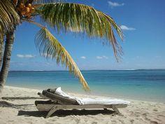 Einer der Traumstrände von Mauritius, der Strand des Lux Le Morne