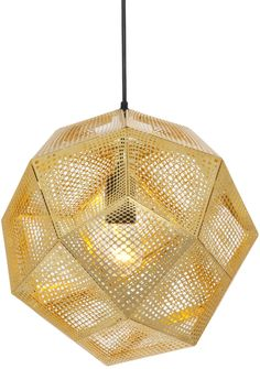 Tom Dixon Etch Polished Brass Pendant Shade by on shopstyle.co.uk