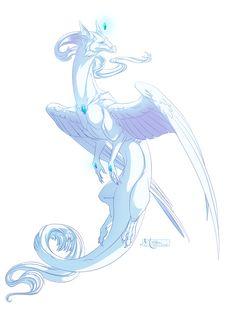 Dragon #28 -Commission- by Mythka.deviantart.com on @deviantART