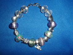 Love You Euro Bead Bracelet by DaKsJewelry on Etsy, $30.00