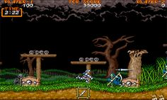 Ghosts N Goblins, i just like how the clouds look.