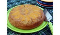 Peach Upside-Down Cake Recipe