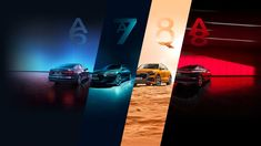 Look at the lines, look at the colours, look at the composition. The graphic designer of this header image truly deserves kudos! Audi Germany, Youtube Channel Art, Youtube Banners, Header Image, Banner Design, Composition, Colours, Graphic Design, Top