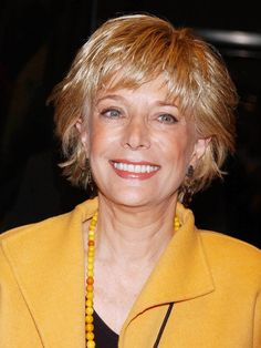 Lesley Stahl--Saw her as part of a lecture series in Reno.