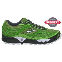 BRooKS CaSCaDia 3 TRaiL RuNNiNG SHoeS. DiGGiNG GReeN FoR SoMe ReaSoN