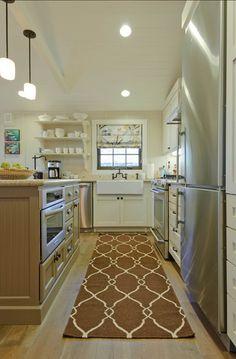 Open Shelves kitchen. #kitchen