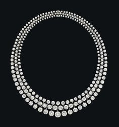 A DIAMOND NECKLACE | necklace, diamond | Christie's