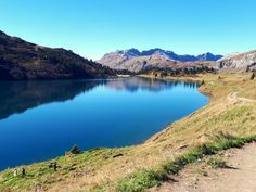 Engstlensee (Engstlenalp, BE) - schweizersee. Kanton, Seen, Switzerland, Mountains, Nature, Travel, Environment, Naturaleza, Viajes