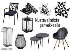 Mustavalkoista tyylikkyyttä HomeWhiteHome blogissa