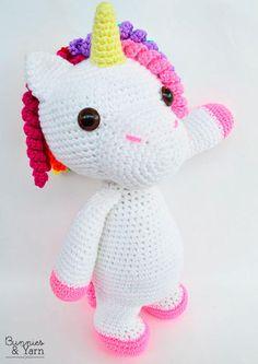 Crochet Pattern Mimi Friendly Unicorn - Amigurumi | Craftsy
