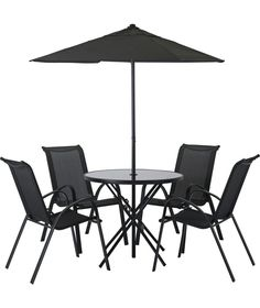 Buy Sicily 4 Seater Patio Set at Argos.co.uk - Your Online Shop for Garden table and chair sets.