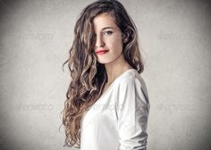 Realistic Graphic DOWNLOAD (.ai, .psd) :: http://jquery.re/pinterest-itmid-1007044213i.html ... nice girl ...  beautiful, beauty, caucasian, charming, curly hair, fascinating, hair, hairstyle, portrait, smile, studio, sweet, teen, teenager, wall, woman  ... Realistic Photo Graphic Print Obejct Business Web Elements Illustration Design Templates ... DOWNLOAD :: http://jquery.re/pinterest-itmid-1007044213i.html