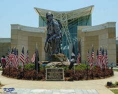 Iron Mike on Fort Bragg army base by Ken Sun NC, via Flickr