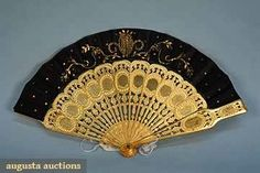 In the Swan's Shadow: 5 FANS, MID 19th C
