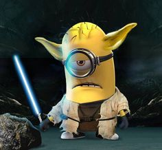 Yoda Minion ~ Had to add this one for sure to my Star Wars collection!