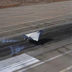 boeing x-32 flight testing