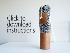 Click to download Boho Yoga Mat Bag Project