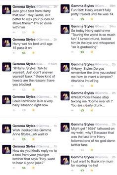 """#gemmaisthebetterstyles love her :) Gemma Styles>>>>""""So is graduating"""" god can I keep her?!!!"""