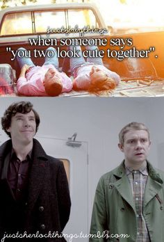 I love how pleased with himself Sherlock is. Adorbs!