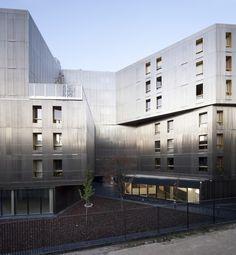 Irene Joliot Curie Residences / BE Hauvette + DATA [Architectes]