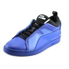 Puma Men's Mcq Brace Lo Surf Web/Black/Surf Web Ankle-High Leather Fashion  Sneaker - 6.5M