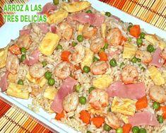 arroz chino a las tres delicias Puerto Ricans, International Recipes, Deli, Pasta Salad, Potato Salad, Ethnic Recipes, Carne, Food, Youtube