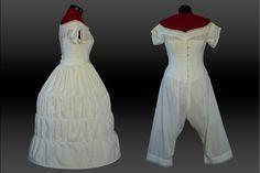 Suknia z Różami   Stroje Historyczne – Rekonstrukcje Ubiorów minionych epok