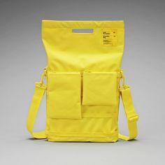 """Laptop Bag 13"""" Gelb, 66€, jetzt auf Fab."""