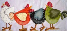 Pebble Painting, Tole Painting, Painting On Wood, Chicken Crafts, Chicken Art, Tile Crafts, Paper Crafts, Chicken Illustration, Chicken Quilt