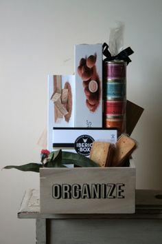 Caja de madera gourmet. Presupuestos a medida.