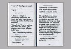 Floris van Driel – Graphic Design / Down The Rabbit Hole Print Layout, Layout Design, Print Design, Typography Layout, Graphic Design Typography, Editorial Layout, Editorial Design, Graphic Design Flyer, Publication Design