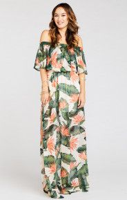 Hacienda Maxi Dress ~ Paradise Found