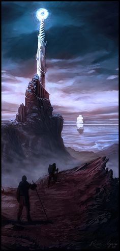 The Tower of Lindon. Lindon was a region of the Westlands. Initially populated by Laiquendi, in the following Ages it became an important Elvish realm, known for its harbors and Elven Ships that would sail for the West.