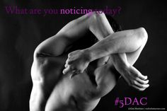 What are you noticing today? #5DAC Find out more about the #5DayAwarenessChallenge here - http://ginimartinez.com/win-a-momentum-motivational-wrap/