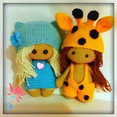 Amigurumi doll crochet pattern