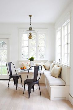 A bright, well-lit interior is fundamental to loving your home a little bit more each day. And though floor and table lamps are great décor elements, you should have a source of overhead light in every room. If you live in an older home without ceiling fixtures of any sort (many midcentury homes lack them), hire an electrician to rewire your home. While you're at it, install dimmers to optimize your lighting throughout the day.