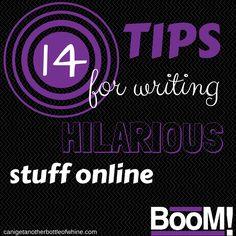 Are you a blogger who wants to be funny? Sometimes it seems impossible to turn on the humor. You feel like all the jokes have been done already right? It's true that bad jokes are worse than no jokes, so how do you overcome some of that fear of the flop, and work to get your best stuff out there?