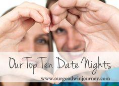 Top Ten Date Nights