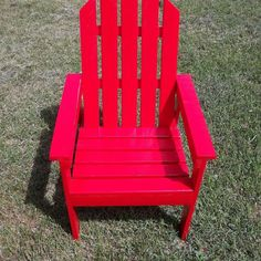 Kid-Sized Adirondack Chair for Charity