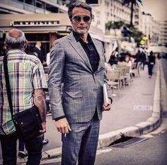 No words necessary. Mads Mikkelsen, Cannes Film Festival 2016.