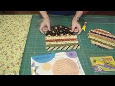 """Continuous Bias Binding - 200"""" of binding from 1/2 yard of fabric! - YouTube"""