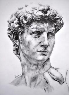 David michelangelo sketch - Pesquisa Google