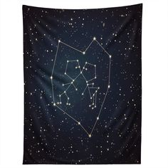 Belle13 Love Written in the Stars Tapestry | DENY Designs Home Accessories