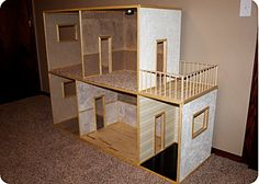 how to make a doll house