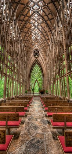 A chapel in the woods, [gothic] Bella Vista, Arkansas, USA by IPBrian