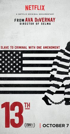 Directed by Ava DuVernay. An in-depth look at the prison system in the United States and how it reveals the nation's history of racial inequality.