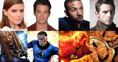 The Fantastic Four Reboot Cast Revealed! -- Kate Mara is the Invisible Woman, Miles Teller is Reed Richards, Michael B. Jordan is Johnny Storm and Jamie Bell is 'The Thing' in the reboot. -- http://wtch.it/0u8AK