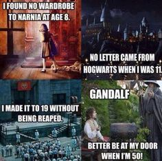 Narnia-Harry potter-hunger games-hobbit